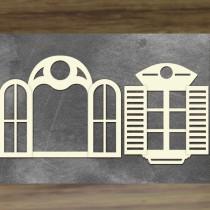 Chipboard - Layered window...