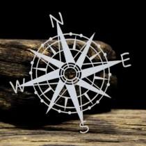 Chipboard - Big Compass rose