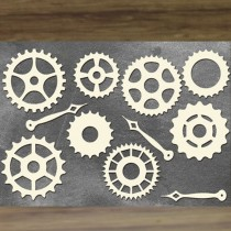 Chipboard  STEAMPUNK - Set...