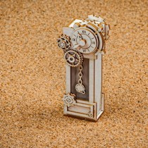 Chipboard - Steampunk Clock 3D