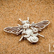 Chipboard - Clockwork Bee...