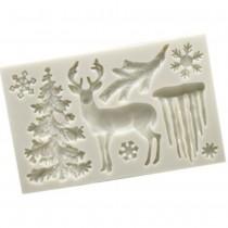 Silicone Mold - Christmas...