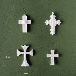 Mold 36 - 4x Different Crosses