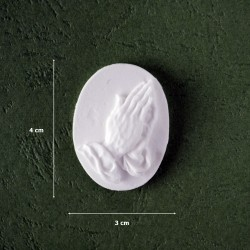 Mold 37 - Cameo /Praying Hands
