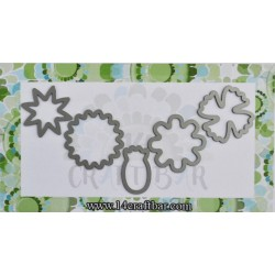 Small Flowers Set 5 -Cutting Dies