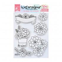Watercolour Paper Elements...