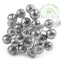 Wire Bead - SILVER - bunch...