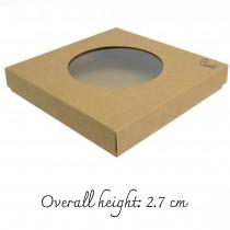 Box  6x6 with circle...