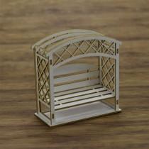Chipboard - Pergola 3D