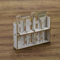 Chipboard - Set of garden...