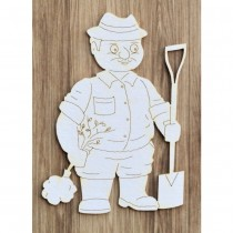 Chipboard - Grandpa Gardener