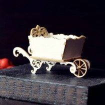 Chipboard 3d - Wheelbarrow 8cm
