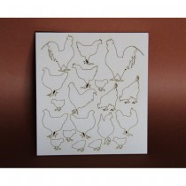 Chipboard - Hens and...