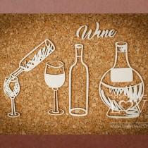 Chipboard - Wine set