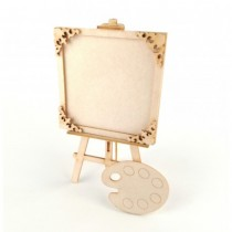 Chipboard 3D - Easels with...