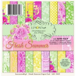 Scrapbooking Papers - Gossamer Blue (6x6)