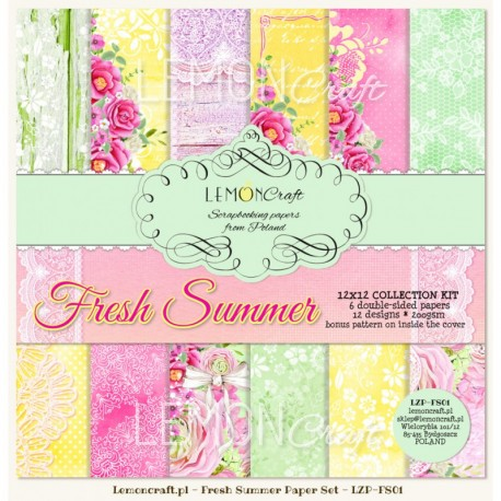 Scrapbooking Papers - Fresh Summer (12x12)