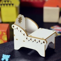 Chipboard - Baby chair 3D