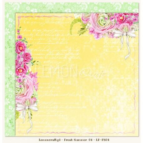 Scrapbooking Papers - Fresh Summer (12x12)