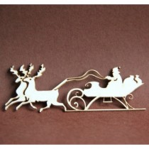 Chipboard - Small sleigh...