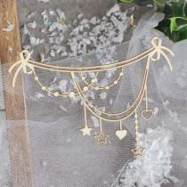 CHIPBOARD - Christmas garland