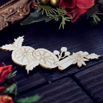 CHIPBOARD - Ornament with...