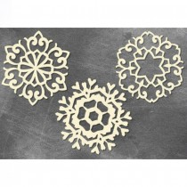 CHIPBOARD - Big Snowflakes...
