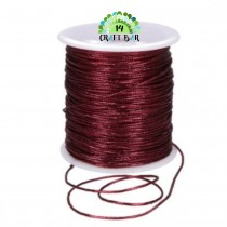 Metallic String - BURGUNDY