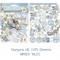 Stamperia DIE CUTS Elements...