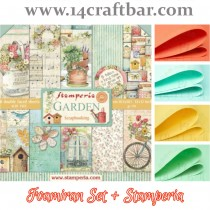 Foamiran Set with Stamperia...