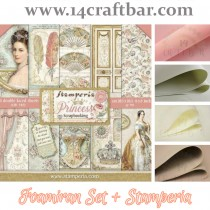 Foamiran Set with Stamperia...
