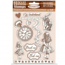 Rubber Stamp - Alice -...