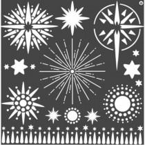 Stamperia Stencil - Stars
