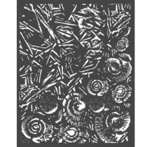 Thick stencil - Stamperia -...