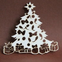 CHIPBOARD - Christmas Tree 02