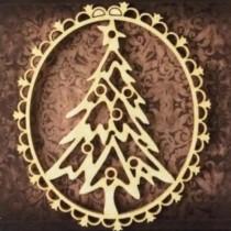 CHIPBOARD - Christmas Tree...