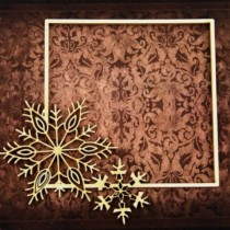 CHIPBOARD -  Square Frame...