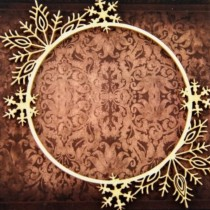 CHIPBOARD -  Circle Frame...