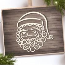 Chipboard - Santa