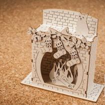 Chipboard 3d - Fireplace...
