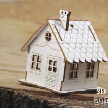 Chipboard - Mini Hut -...