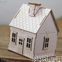 Chipboard 3D- TINY FAMILY...
