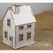 Chipboard 3D - TINY FAMILY...