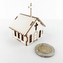 Chipboard 3D - MICRO CHURCH