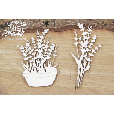 Chipboard - Lavender Mist