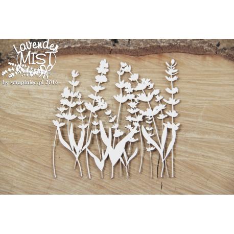 Chipboard -Lavender Mist
