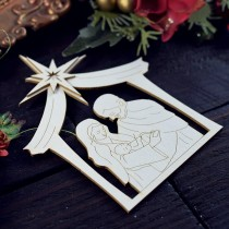 Chipboard - Nativity Scene 02