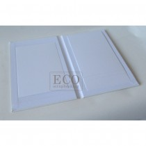 Canvas Album - CASCADE -white