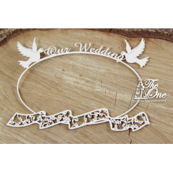 Chipboard - Wedding & Love, frame