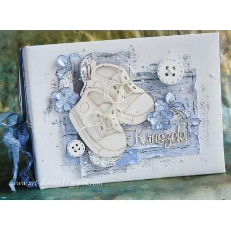 Canvas Album Horizontal 15x20 /WHITE